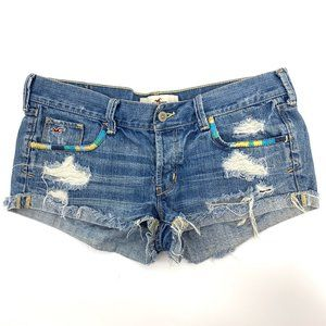3/$20 Hollister shorts with distressing size 5